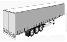 Standard Curtain Trailer